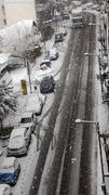 Δρόμοι με χιόνι
