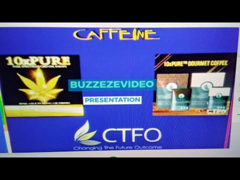 BUZZEZEVIDEO CTFO 10XPURE GOURMET COFFEE PRESENTATION