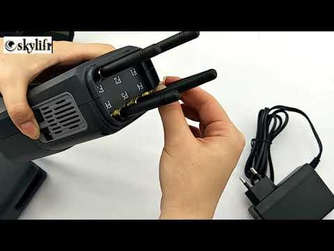 Brouilleurs portable de signal intégré