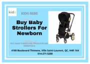 Buy Baby Strollers For Newborn, Infants, Kids in Canada | Kido Bebe