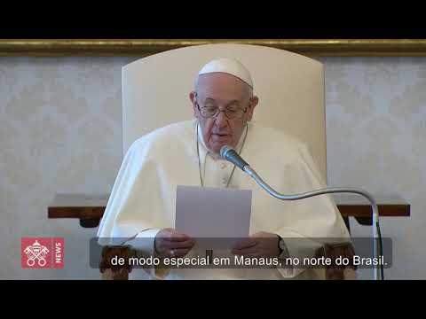 A oração do Papa pelas vítimas da pandemia, especialmente em Manaus