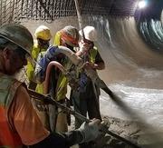 Shotcrete Tunnel Lining in Austin