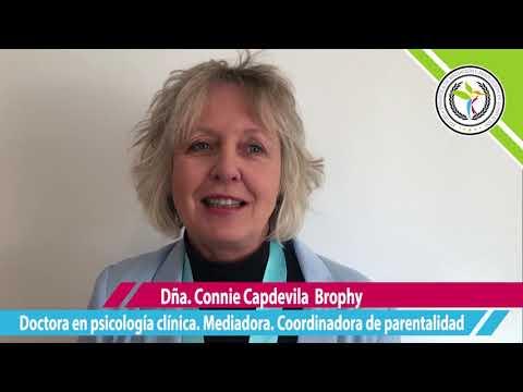Dña. Connie Capdevila Brophy, Doctora en psicología clínica, psicoterapeuta, mediadora,