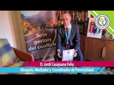 D. Jordi Casajoana Feliu, Abogado, Mediador y Coordinador de parentalidad
