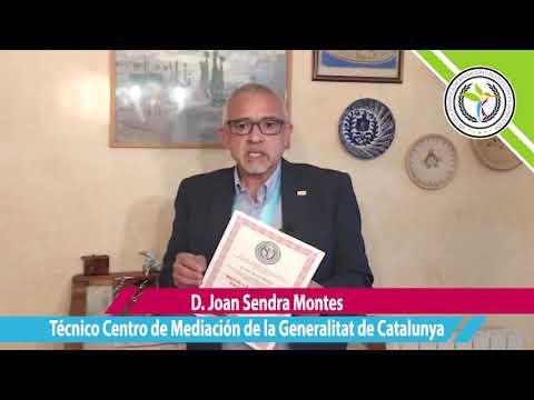 D. Joan Sendra Montes, Técnico Centro de Mediación Generalitat de Catalunya