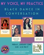 My Voice, My Practice: Black Dance in Conversation The International Association of Blacks in Dance's 30th Anniversary Panel Features Eduardo Vilaro, Artistic Director and CEO, Ballet Hispánico