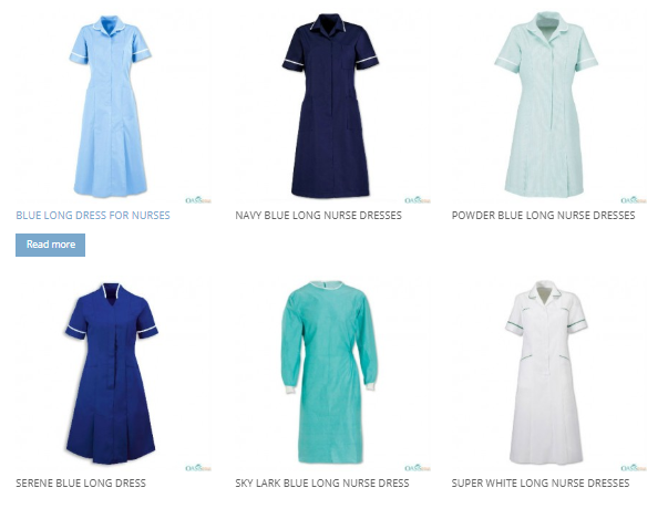 nurse uniform online in Canada