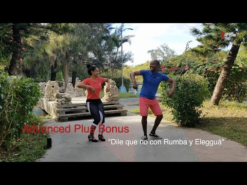 "Free Online Salsa Moves / Tutorial 4  ""Dile que no con Rumba"""