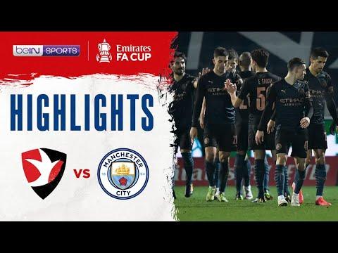 ฟูลแมตช์+ไฮไลท์ Cheltenham 1-3 Man City