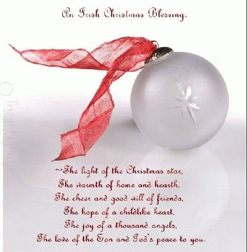 Christmas Blessing Poem.Merry Christmas The Wild Geese