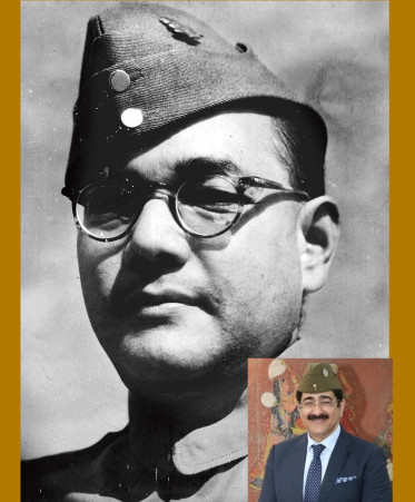 Chief Scout For India Spoke at Netaji Forum