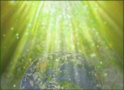Emanar de Amor&Luz ao Planeta Terra