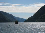 MS Granvin i Hardangerfjorden
