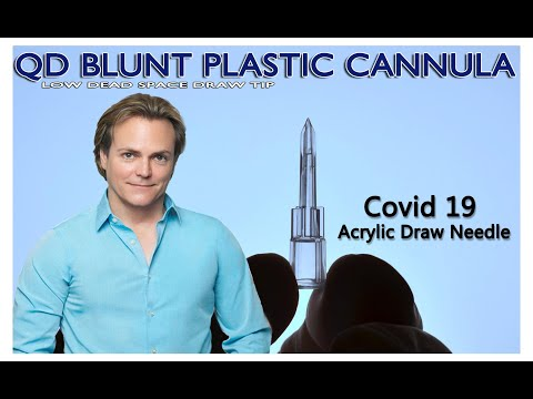 Low Dead Space Cannula | Covid 19 Vaccine Draw Cannula | QD Cannula | Chris Green at 954-655-4145