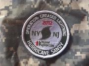Sandy Response 2012