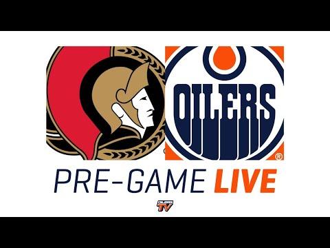 ARCHIVE | Pre-Game Coverage - Oilers vs Senators - McDavid & Archibald