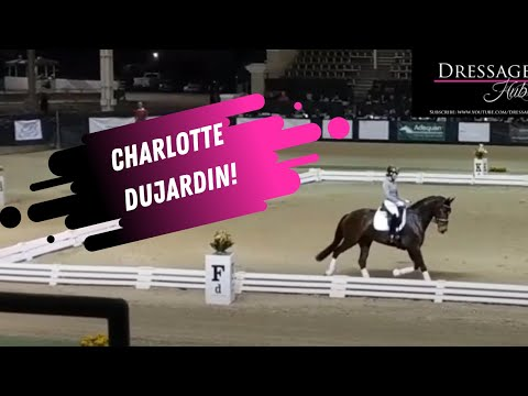 Charlotte Dujardin: The Correct Use Of A Dressage Whip