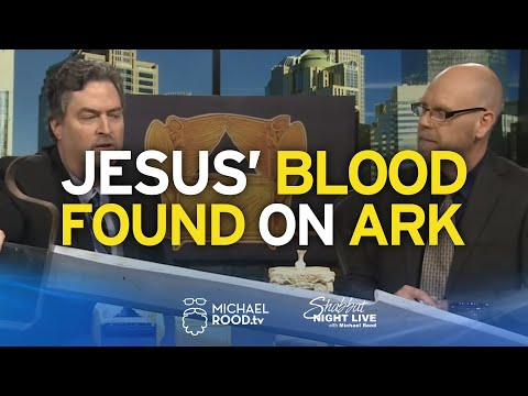 Jesus' Blood Found on the Ark of the Covenant