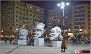 Μπάστακες, στην πλατεία Γεωργίου...