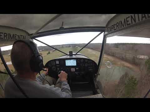 Zenith CH701 grass strip landing