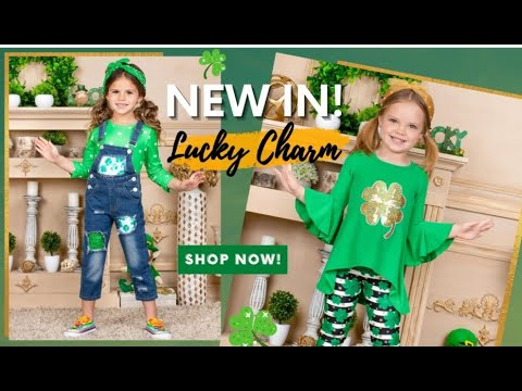 St. Patrick's Day Outfits for Girls | Girls St. Patrick's Day Kids Clothing