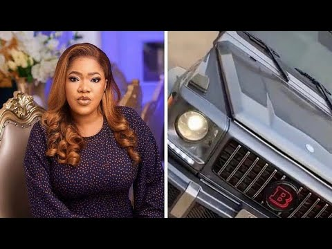 Nollywood actress Toyin Abraham acquires G-wagon brabus