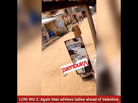 LORI IRO 2: Again Man advises ladies ahead of Valentine