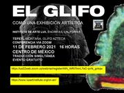 Glifo Cerro como exhibiciòn artìstica.