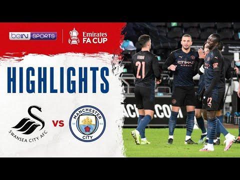 สวอนซี ซิตี้ 1-3 แมนฯ ซิตี้ | เอฟเอ คัพ ไฮไลต์ FA Cup 20/21