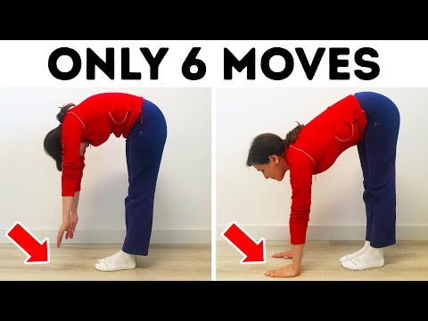 The Only 6 Stretches You Need to Become Flexible