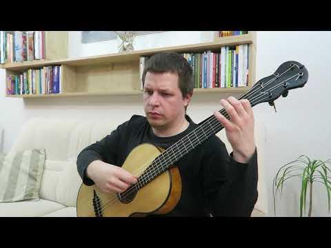 Mauro Giuliani - 18 studies, op. 51 - No. 2, Grazioso in C Major