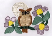 my owl needlelace complete