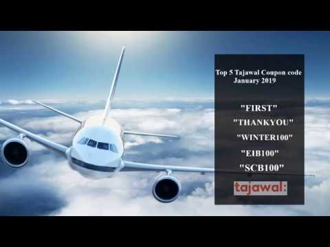 Top 5 Tajawal Coupon Codes For January 2019