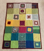 Squares from Melanie Eustace and others.