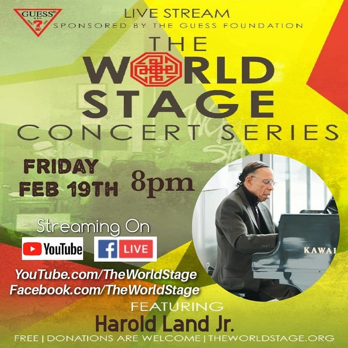 HAROLD LAND Jr. Trio w/ *John B. WILLAMS* & *Gene COYE* *updatez*