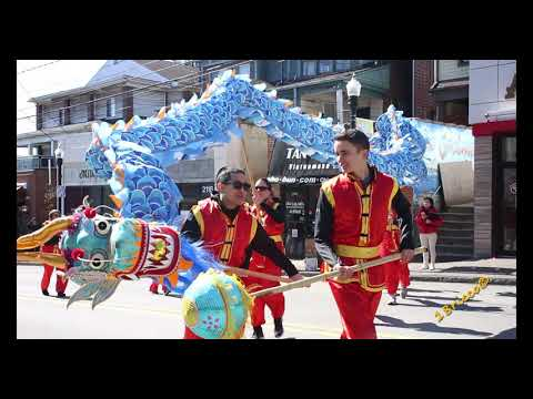 2020 Lunar New Year Parade in Pittsburgh