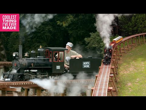 Sonoma Co Man Builds World's Longest Backyard Railroad Trestle - COOLEST THING I'VE EVER MADE - EP19