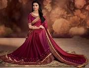 New Arrival of Silk sarees at reasonable prices.