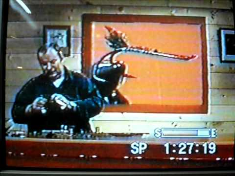 Warren Duncan. Tying a Rusty Rat while reciting poetry