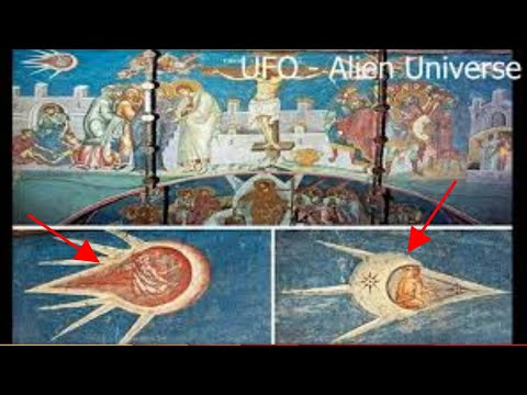 Historic Paintings That Clearly Depict UFOs