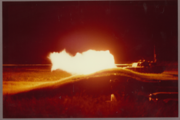 Charlie-14 night fire at Graf '85