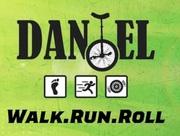 Walk Run Roll for Daniel