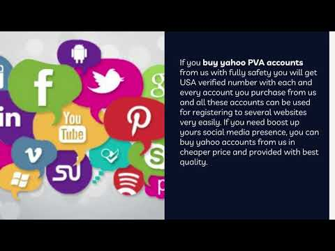 Buy Yahoo PVA Accounts to Improve Online Marketing