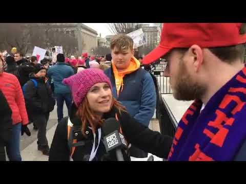 OWEN SHROYER Interviews Leftist Idiots at 2019 Women's March