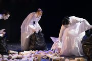 Vangeline Theater presents Free Live Stream Wake Up and Smell the Coffee - Butoh for Waste Prevention: Reducing Coffee Trash