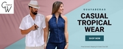 Guayaberas Collection - Casual Tropical Wear