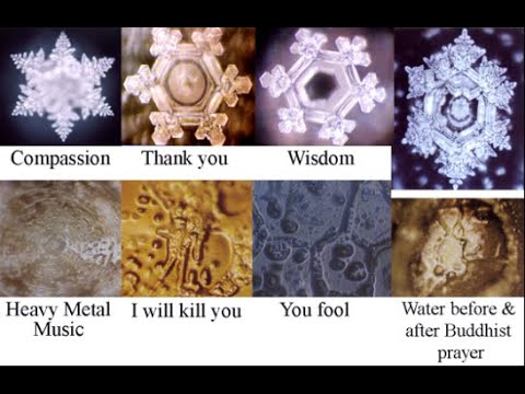 Cymatics-Visual Proof Of The Power Of Sound-Mantras-Intent*What We Say Matters!