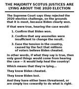Lying SCOTUS