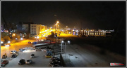 Patra's old Port, in the night