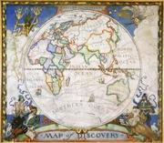 Map of Discovery--Eastern Hemisphere